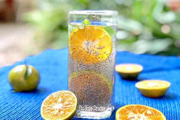 Công thức làm nước mát cho người thích giảm cân