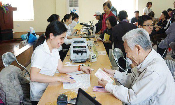 lương hưu,BHXH,bảo hiểm xã hội,thẻ điện tử