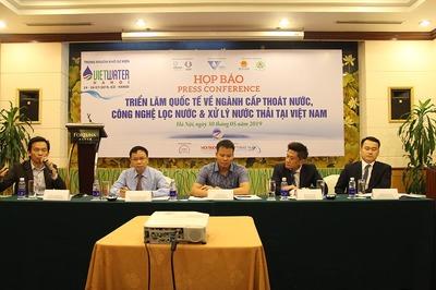 Công nghệ xử lý nước thải, khử mùi hiện đại quy tụ tại Hà Nội