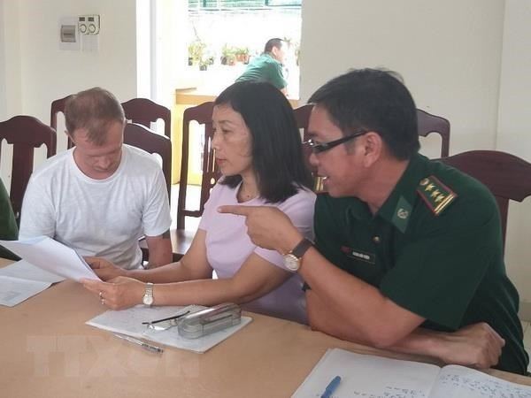 Interpol-wanted Russian man arrested in Quang Tri