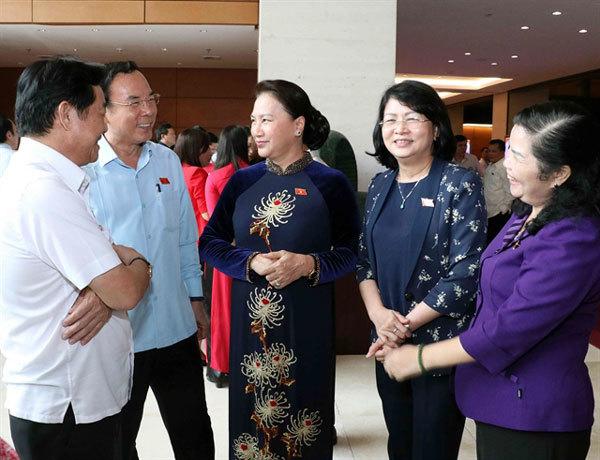 In Vietnam, women find numbers rising in politics but not status