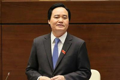 Bộ trưởng Phùng Xuân Nhạ giải trình trước QH về gian lận thi cử