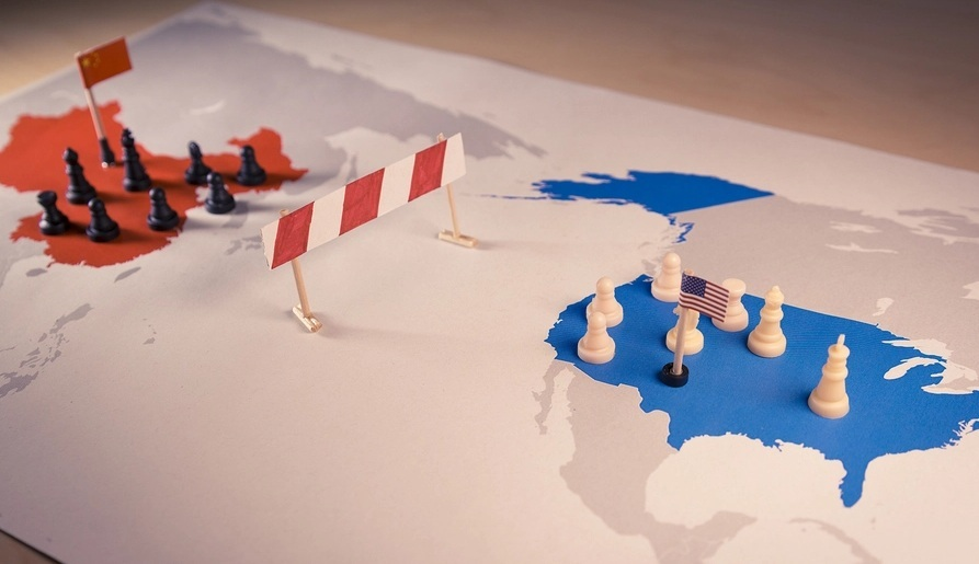 Mỹ-Trung căng thẳng, châu Âu khó xử