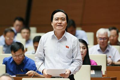 Bộ trưởng Phùng Xuân Nhạ nhận trách nhiệm vụ gian lận thi cử