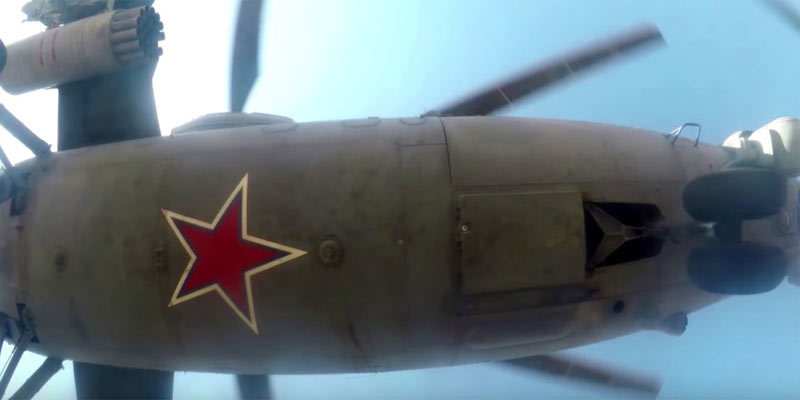 Nga,trực thăng Nga,tác chiến