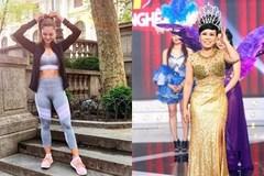 Chiều cao chỉ ngang ngửa danh hài Việt Hương, phải chăng Hoa hậu Hoàn vũ có thù với phó nháy?