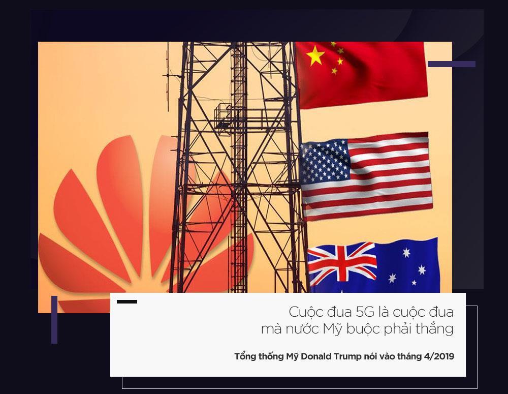 Chiến tranh 5G là lý do cho cú 'búng tay' hủy diệt Huawei