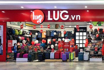 Chuỗi bán lẻ sản phẩm hành lý LUG cán mốc 50 cửa hàng