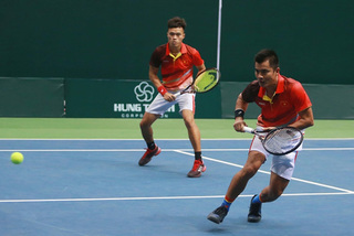 Tennis team expect to get promoted at Davis Cup