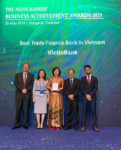 VietinBank - Ngân hàng Tài trợ Thương mại tốt nhất Việt Nam