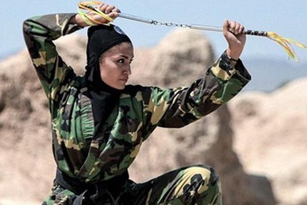 Bí ẩn đội nữ đặc nhiệm sát thủ của Iran