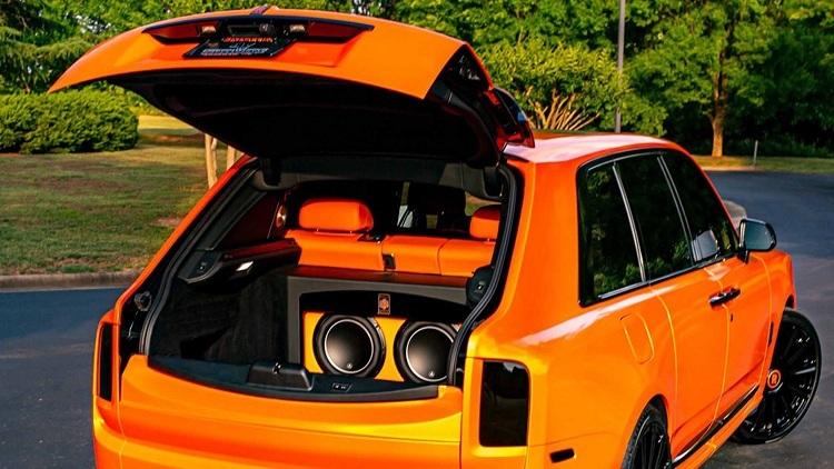 Rolls-Royce Cullinan,Rolls-Royce Cullinan độ,Beckham