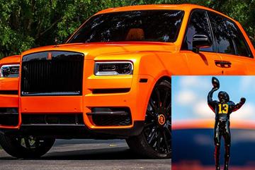 Danh thủ Odell Beckham Jr tậu Rolls-Royce Cullinan độ màu siêu độc