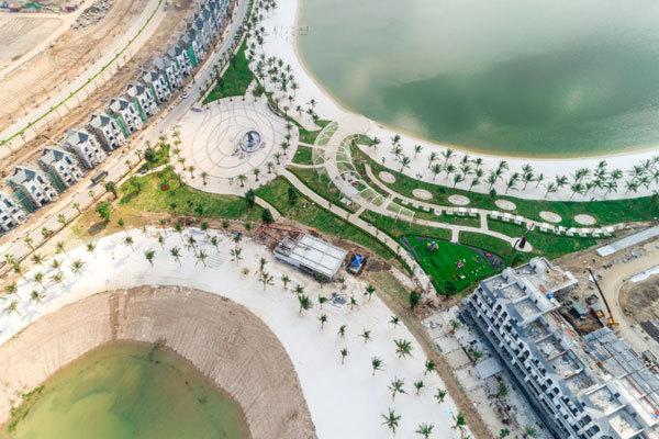 biển hồ,hồ trải cát,đại đô thị