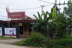 Phú Thọ: Thanh niên mặc áo mưa xông vào ngân hàng cướp 500 triệu đồng