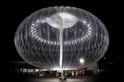 Google dùng khí cầu để phát Internet cho người dân bị động đất