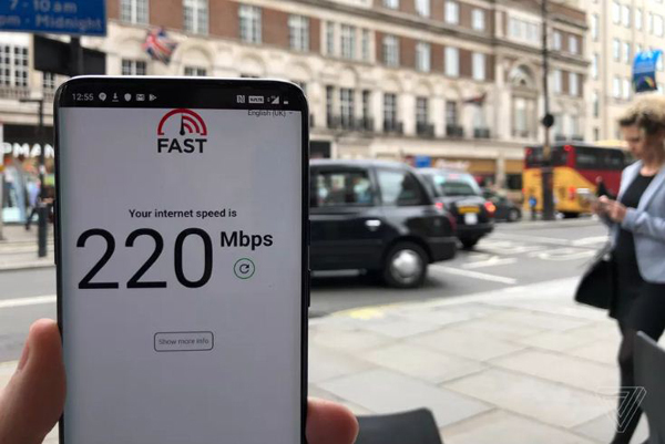 5G,4G,Internet,Thử nghiệm 5G