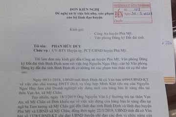 Phó chủ tịch huyện 'tố' bị cán bộ tỉnh bôi nhọ trên Facebook