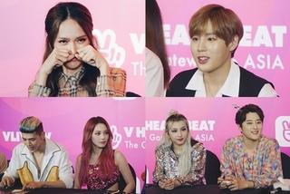 Hương Giang 'làm đủ trò' trong fansign đầu tiên cùng Ha Sung Woon và KARD