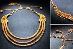 Tìm được dây chuyền vàng 800 năm tuổi trong xác tàu đắm Trung Quốc