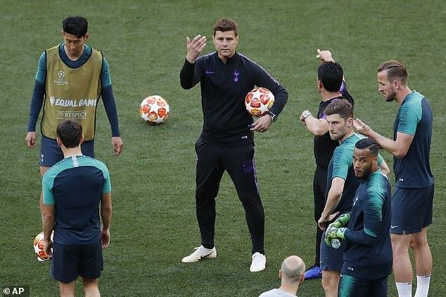 Xem Tottenham 'bài binh bố trận' đấu Liverpool ở chung kết C1