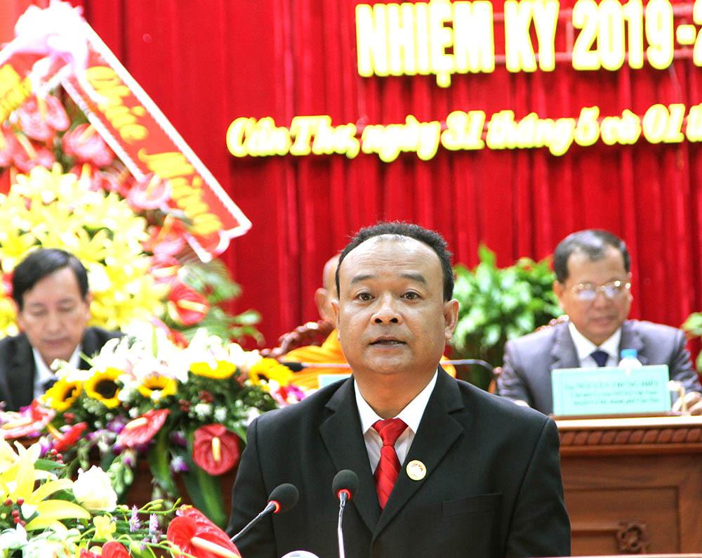 Bí thư huyện được bầu làm Chủ tịch UB MTTQ TP Cần Thơ