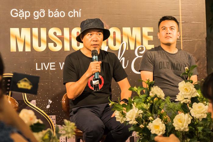 Music Home,Đinh Tiến Dũng,Huy Tuấn