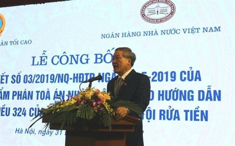 Resolution to guide money laundering enforcement in Vietnam announced