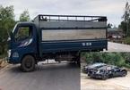 Thượng úy CSGT Quảng Bình bị xe tải tông tử vong