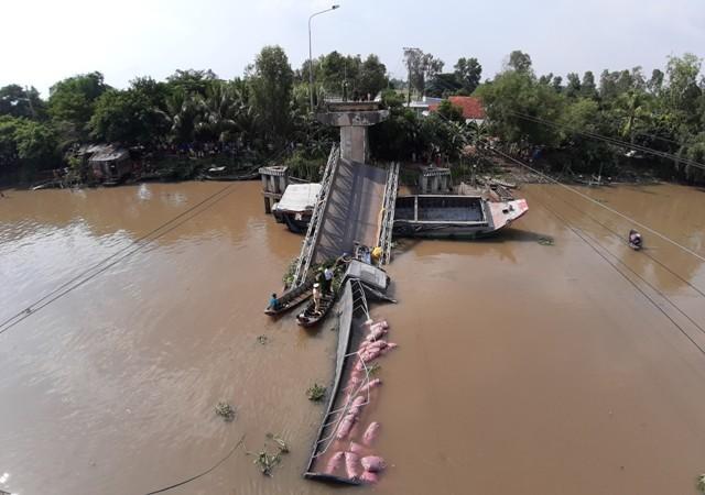 Bộ trưởng Nguyễn Văn Thể có công điện khẩn sau vụ cầu BOT bị sập