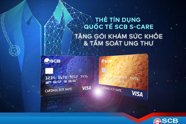SCB- ngân hàng đầu tiên tặng gói tầm soát ung thư cho chủ thẻ Visa