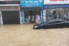 Sơn La mưa lớn diện rộng, nhiều nơi ngập lụt