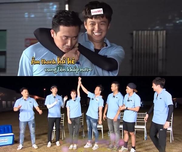 Chạy đi chờ chi,Running Man,Ngô Kiến Huy,Lan Ngọc,BB Trần,Trấn Thành