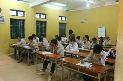 Dự kiến điểm chuẩn vào lớp 10 ở Thanh Hóa