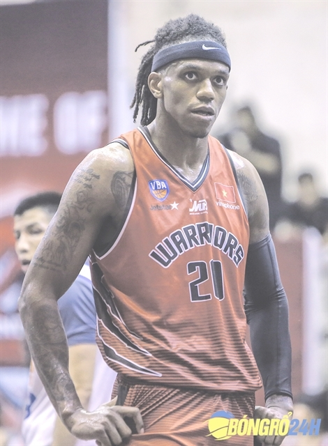 Jaywuan Hill returns to the VN Basketball Association a man on a mission