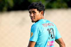 Thái Lan chốt danh sách đấu tuyển Việt Nam: Dangda góp mặt