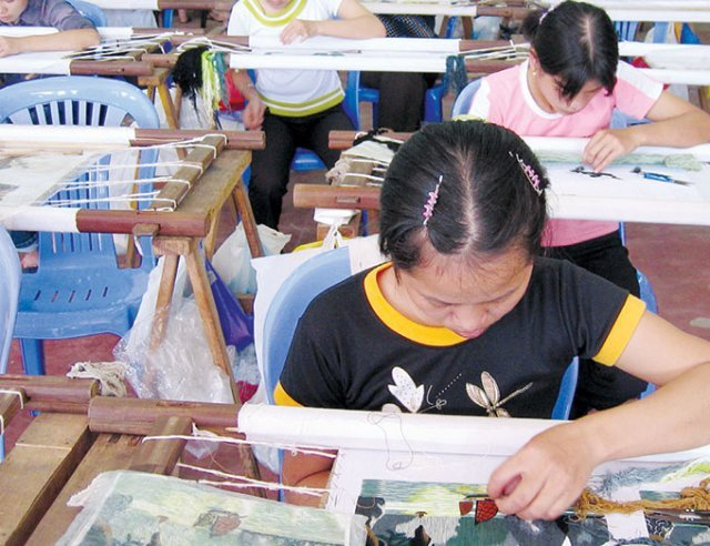 Vietnamese disabled given a chance at work