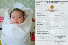 Khai sinh cho con có cha mang quốc tịch nước ngoài