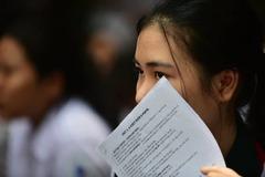 """Xuất hiện bảng """"điểm chuẩn"""" lớp 10 giả mạo ở Khánh Hòa"""