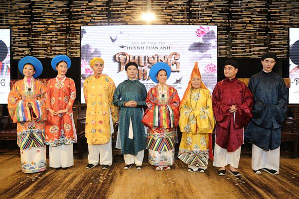 NSND Hồng Vân, Hồng Đào tranh quyền đoạt vị trong phim cung đấu Việt