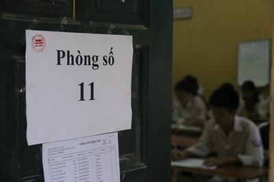 5 thí sinh bị đình chỉ trong ngày đầu tiên thi lớp 10 ở Hà Nội