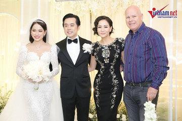 Dàn sao Việt tưng bừng dự cưới Dương Khắc Linh và hot girl 9X