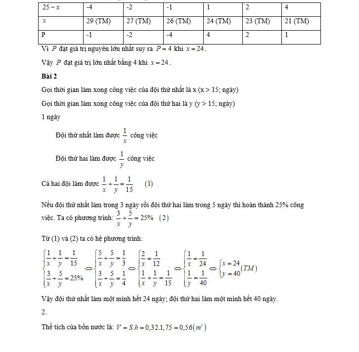 Môn Toán thi lớp 10 của Hà Nội giảm nhẹ độ khó ở câu hình học