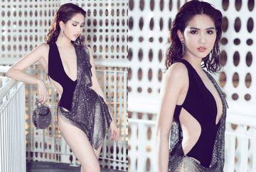 Tiếp tục hở bạo sau Cannes, Ngọc Trinh tuyên bố 'mặc vậy vì tôi thích'