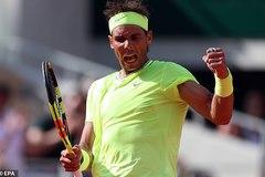 Nadal vẫn chưa có đối thủ ở Roland Garros