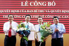 Công bố các quyết định nhân sự của Ban Bí thư và Thủ tướng