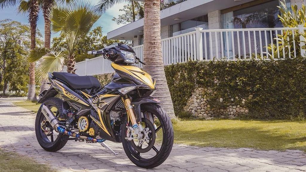 """Yamaha Exciter 150 độ """"full đồ hiệu"""" hơn 200 triệu từ Nha Trang"""