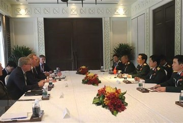 Defence Minister holds bilateral meetings on Shangri-La Dialogue sidelines