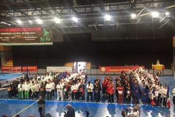 First Vietnamese martial arts world cup held in France
