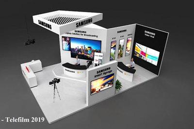Telefilm 2019: Nam Long AV giới thiệu Giải pháp màn hình ghép cho trường quay